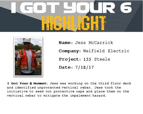 I Got Your Six Highlight 7-18-17 Jess McCarrick