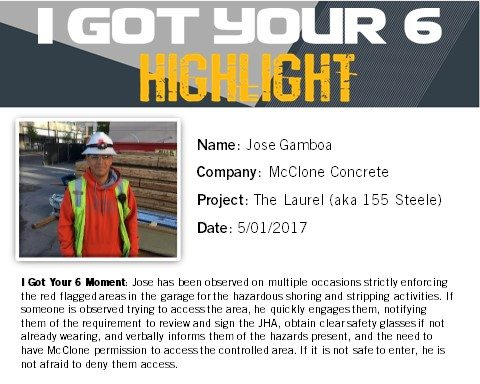 I Got Your Six Highlight - Jose Gamboa