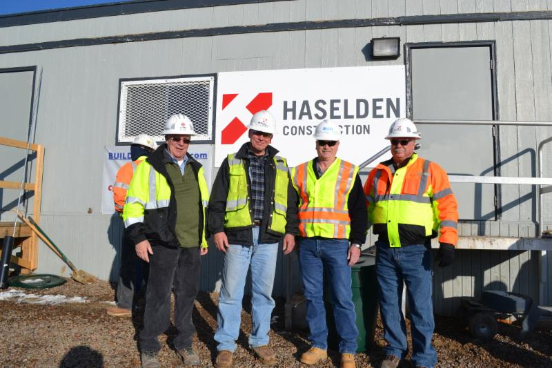 Haselden observes National Safety Stand-Down Week