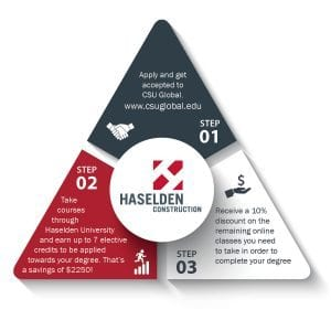 Haselden-CSU Global Triangle graphic