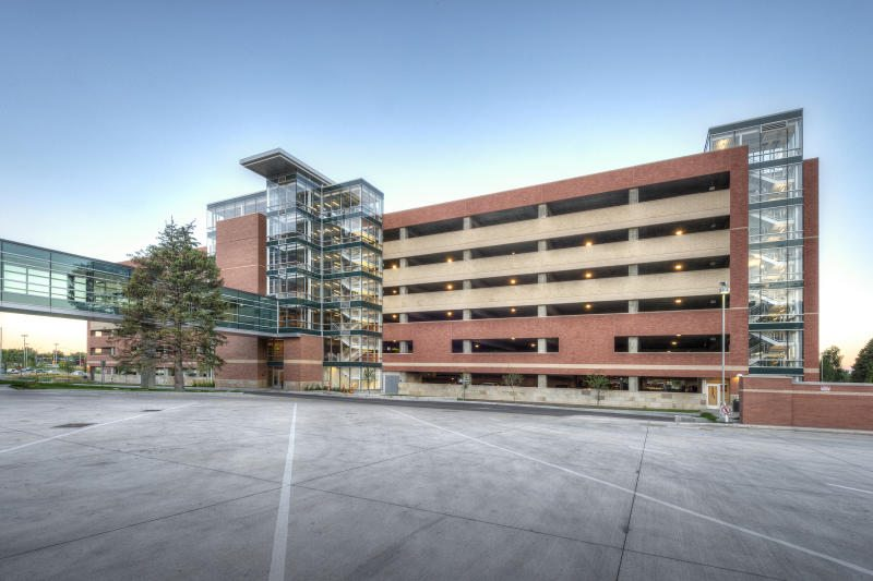 University of Colorado Hospital Employee Parking Garage