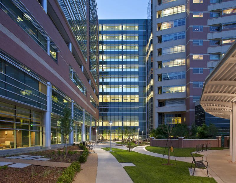 University of Colorado Hospital Inpatient Tower and Critical Care Wing