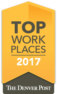 Denver Post 2017 Top WorkPlace