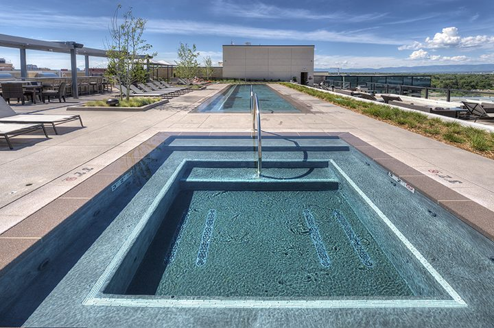 Steele Creek Rooftop Pool