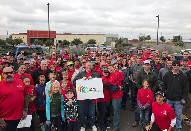 Haselden Construction + Extreme Community Makeover = A Great Builder of Community Relationships!