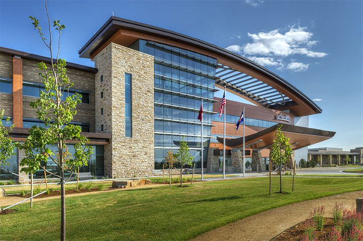 Haselden's UCHealth Longs Peak Hospital – Exterior 1