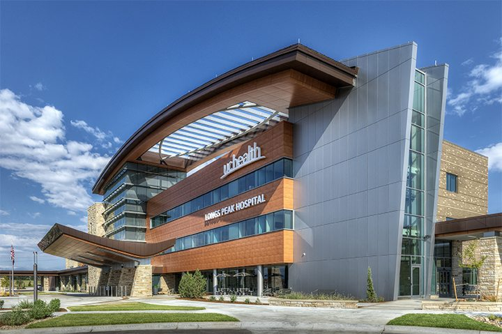 Haselden's UCHealth Longs Peak Hospital – Exterior 2