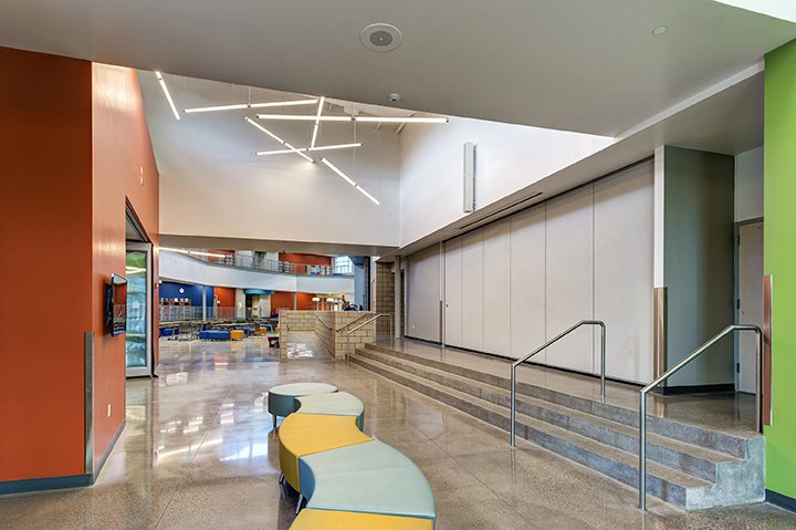 Riverview School – Interior Seating
