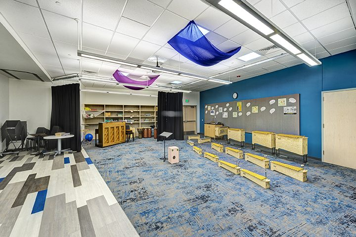 Riverview School – Music Room