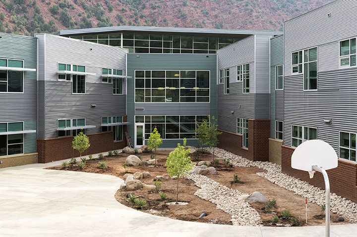 Riverview School – Courtyard