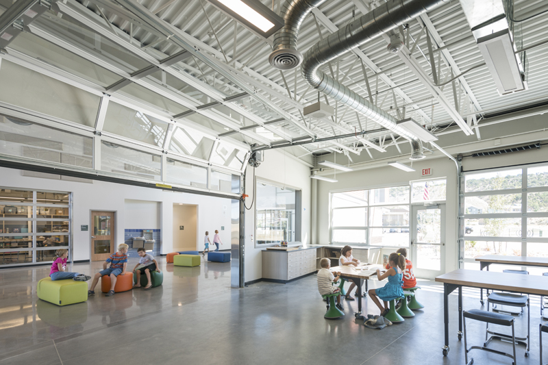 Eagle Valley Elementary School Art Room - Haselden Construction
