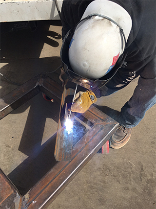 Haselden Construction Misc Metals Welder