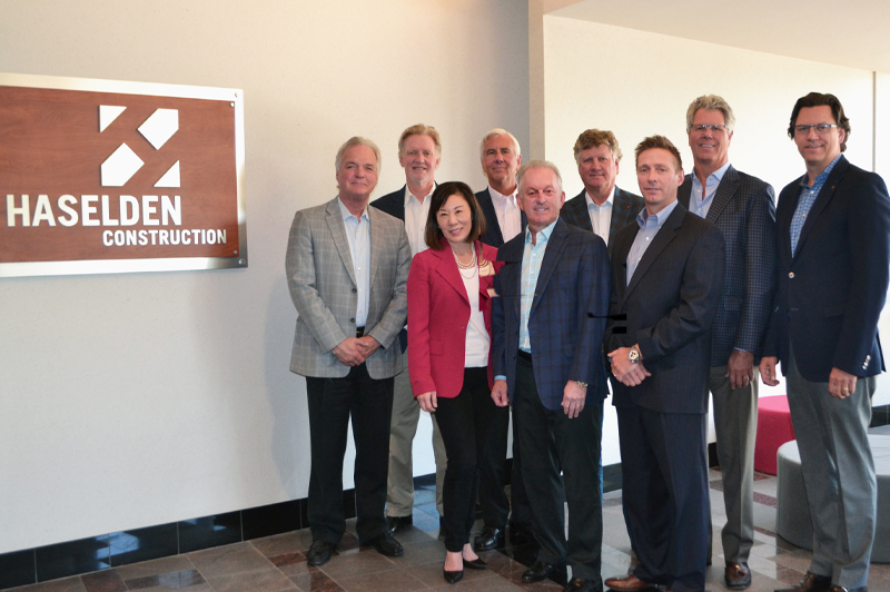Haselden Construction 2019 Board of Directors