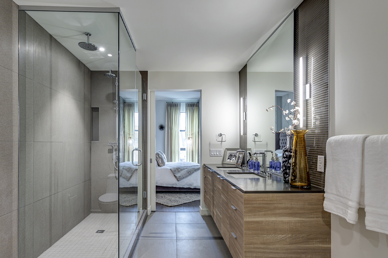 Contour Condominiums Bathroom - Haselden Real Estate Development