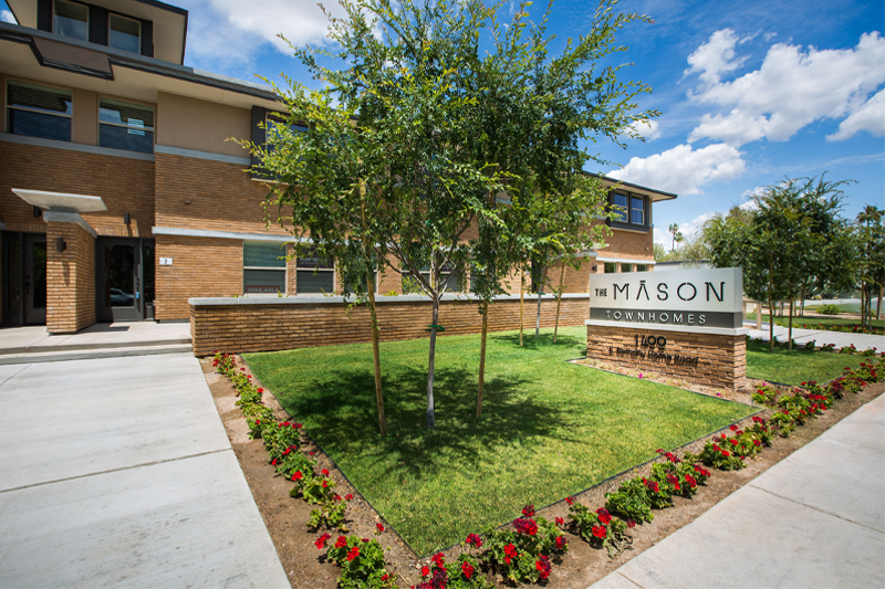 The Mason Exterior- Haselden Real Estate Development